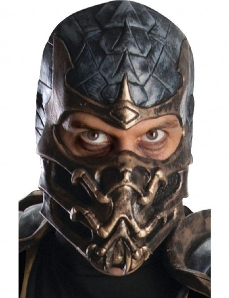 Amazon Com  Overhead Latex Adult Scorpion Mortal Kombat Costume
