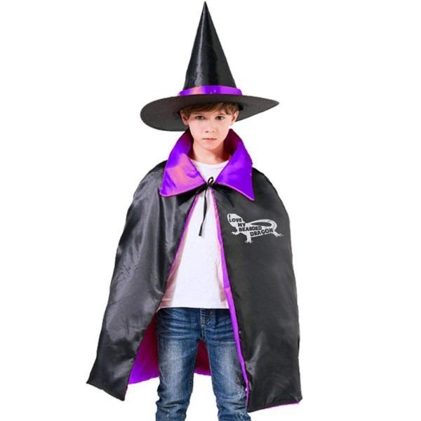 Amazon Com  I Love My Bearded Dragon Halloween Costume Kids Wizard