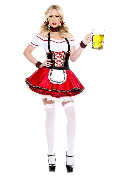 Amazon Com  4 Pc  Ladies Lovable Oktoberfest Baby Dress Costume