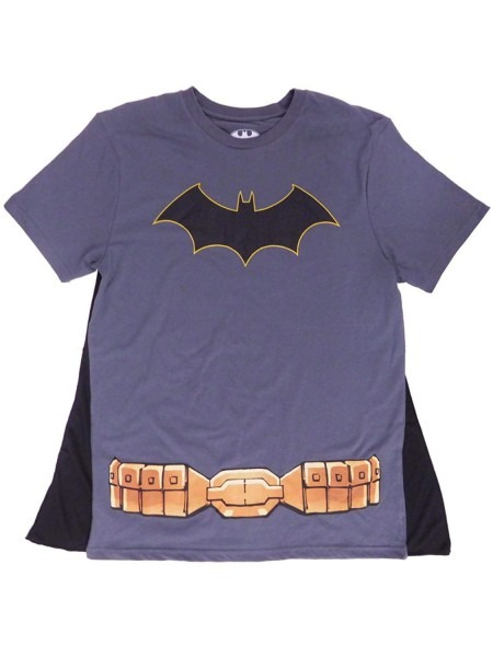 Amazon Com  Dc Comics Batman Costume Graphic T