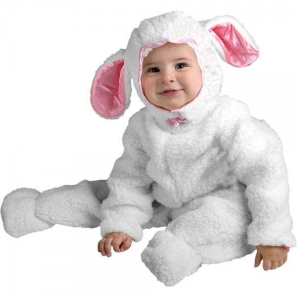 Amazon Com  Infant Farm Animal Baby Lamb Halloween Costume (6