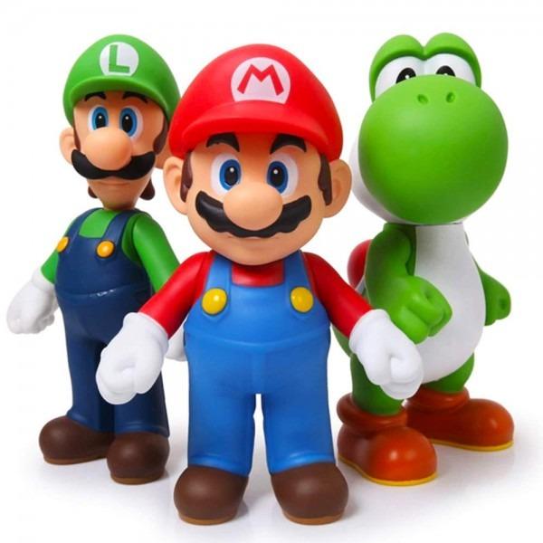 Amazon Com  Jloisos Accessories Mario Bros Luigi Yoshi Figures