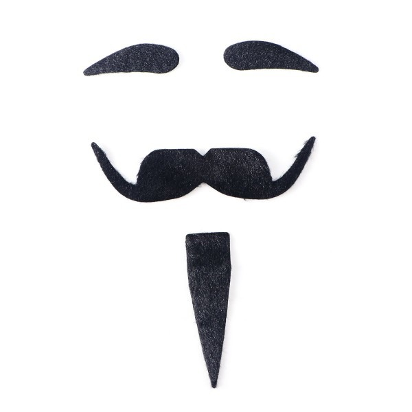 Amazon Com  Tinksky Halloween Costumes Self Adhesive Fake Eyebrows