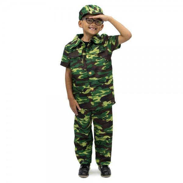Amazon Com  Courageous Commando Childrens Boy Halloween Costume