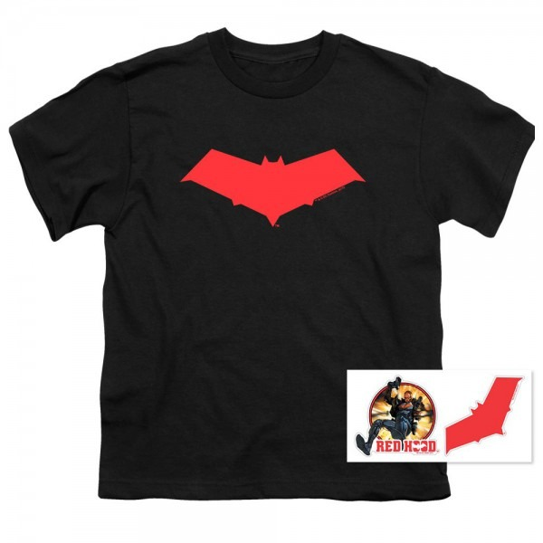 Amazon Com  Red Hood Jason Todd Dc Comics Superhero Youth T Shirt