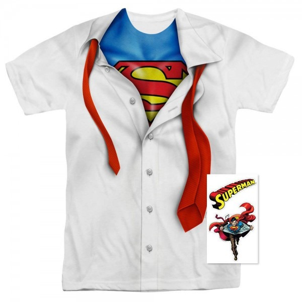 Amazon Com  Dc Comics Adult Superhero Costume T Shirt I'm Superman