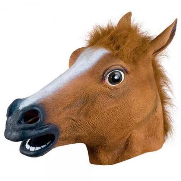 Amazon Com  Lntech Latex Horse Mask, Halloween Animal Masks Horse