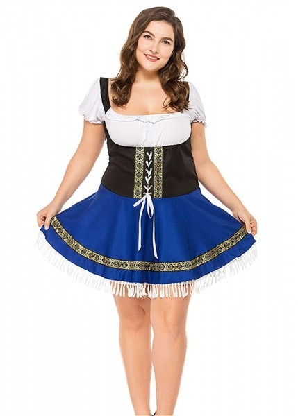 Amazon Com  Maid Costume For Women, Plus Size Beer Girl Costumes