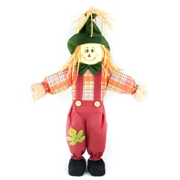 Amazon Com  The Costume Center 24  Red Boy Scarecrow With Plaid