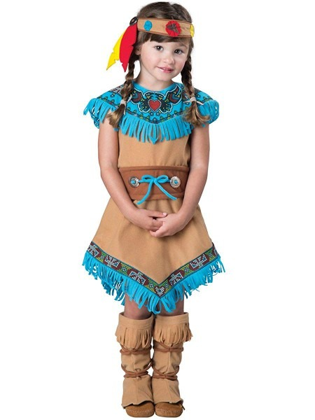 Amazon Com  Incharacter Toddler's Indian Girl Costume  Clothing