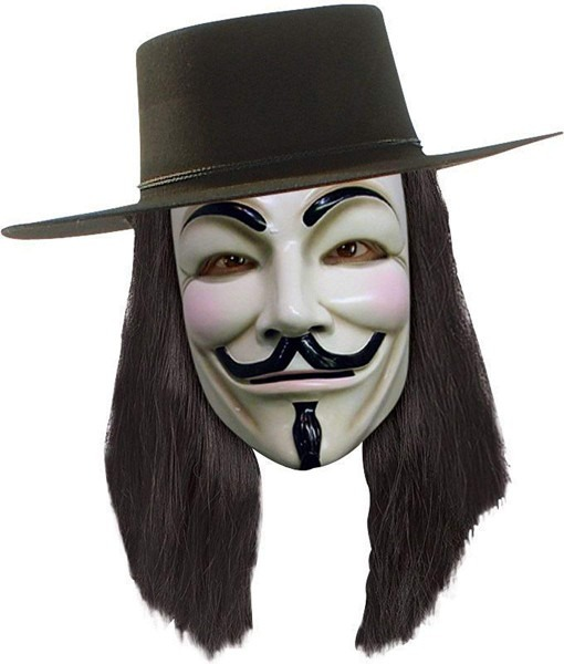 Amazon Com  Morris Costumes Men's V For Vendetta Wig  Clothing