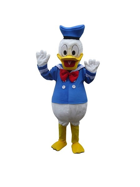 Amazon Com  Donald Duck Adult Mascot Costume Cosplay Fancy Dress