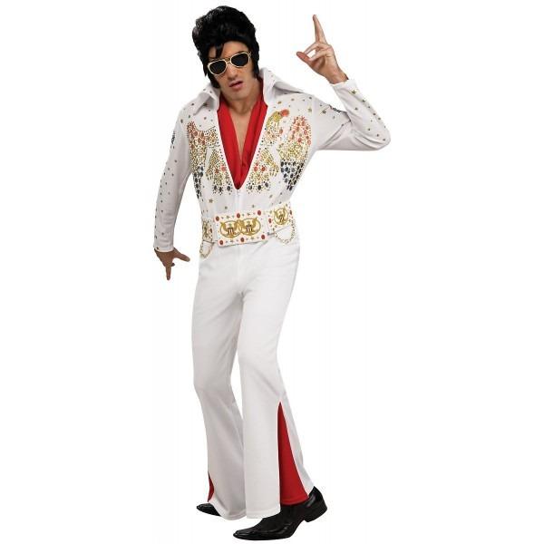 Amazon Com  Adult Deluxe Elvis Presley Halloween Costume (xl