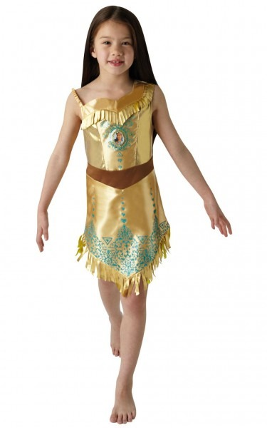 Disney Gem Princess Pocahontas Costume Oufit Girls