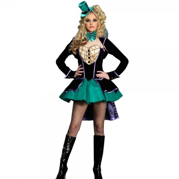 Mad Hatter Halloween Woman Costume