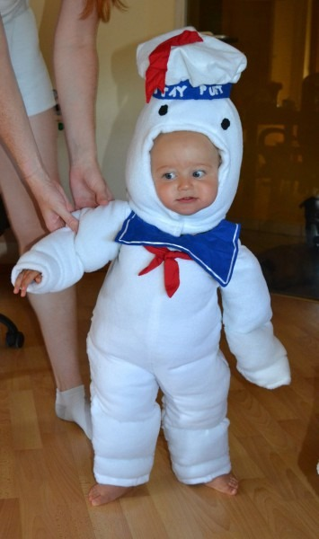 Ghostbusters Stay Puft Costume & Ghostbusters Stay Puft