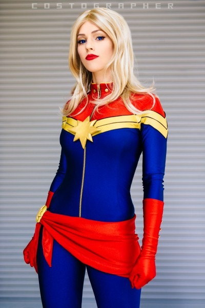 My Name Is Captain Marvel By Jj