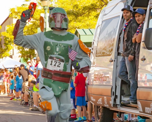 Pro Runner Crushes A Mile Outfitted As Boba Fett In A Galaxy Not