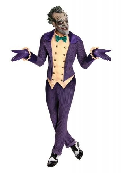 Joker Costume, Batman Arkham Asylum Fancy Dress