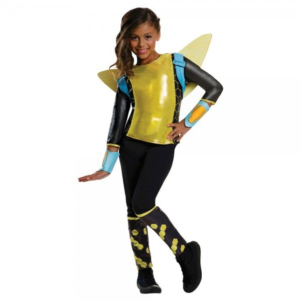 Dc Super Hero Girls Bumblebee Girls' Costume