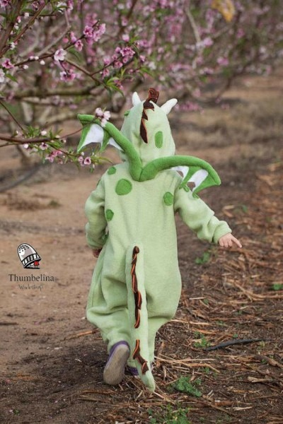 Green Dragon Costume For Kids   Dragon Costume  Halloween Dragon