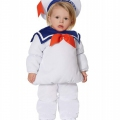 Toddler Stay Puft Marshmallow Man Halloween Costume