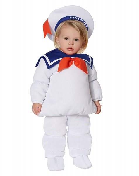 Amazon Com  Spirit Halloween Baby Belly Stay Puft Marshmallow Man