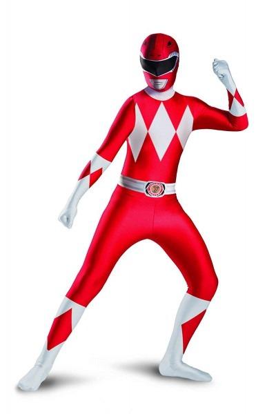 Power Rangers Red Costume & Power Rangers Ninja Steel Red Ranger