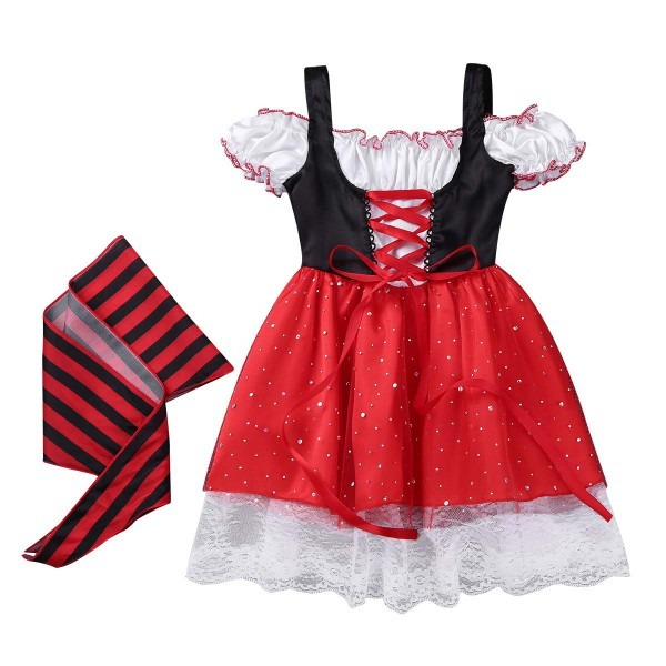 Amazon Com  Chictry Infant Baby Girls Pirate Girl Costume Princess