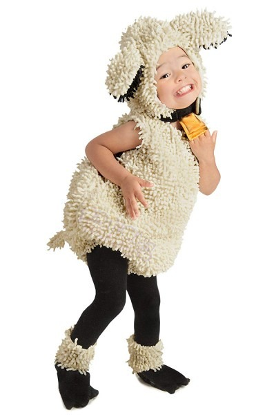 Amazon Com  Princess Paradise Baby Lovely Lamb Deluxe Costume