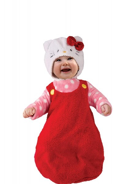 Amazon Com  Hello Kitty Baby Infant Bunting With Hat, Halloween