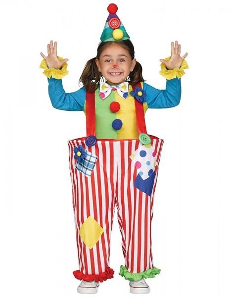 Amazon Com  Crazy Clown Toddler Costume