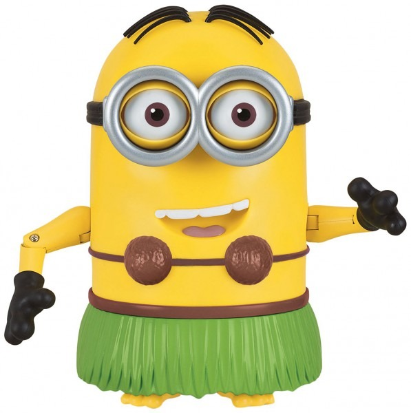 Amazon Com  Despicable Me Talking Hula Minion Dave Toy Figure