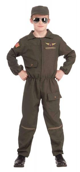 Amazon Com  Fighter Jet Pilot Kids Costume  Toys & Games