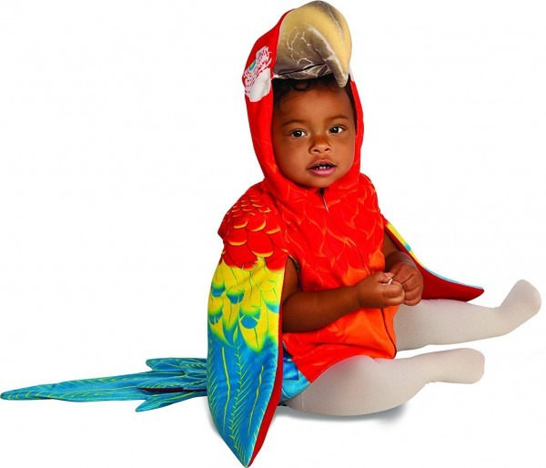 Amazon Com  Rubie's Baby Parrot Costume, Multicolor, Infant  Toys