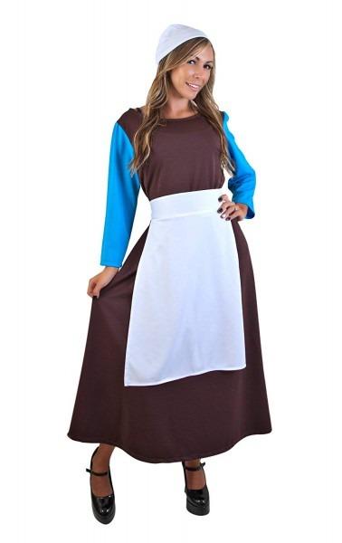Amazon Com  Adult Peasant Cinderella Dress (size  Standard 8