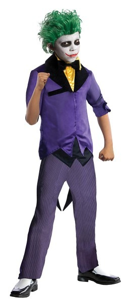 Amazon Com  Rubies Dc Super Villains The Joker Costume, Child