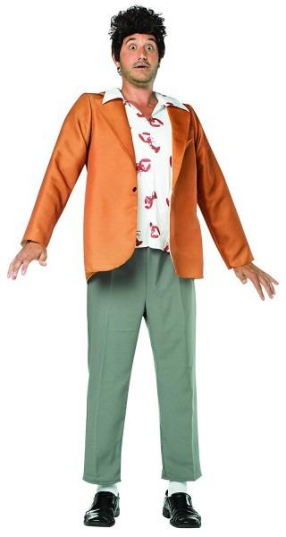 Amazon Com  Rasta Imposta Men's Seinfeld Kramer Costume, Brown