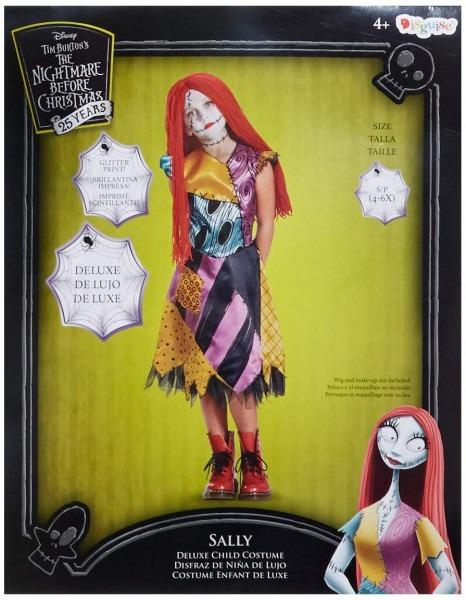 Amazon Com  Sally Deluxe Child Costume, Multicolor, Small (4