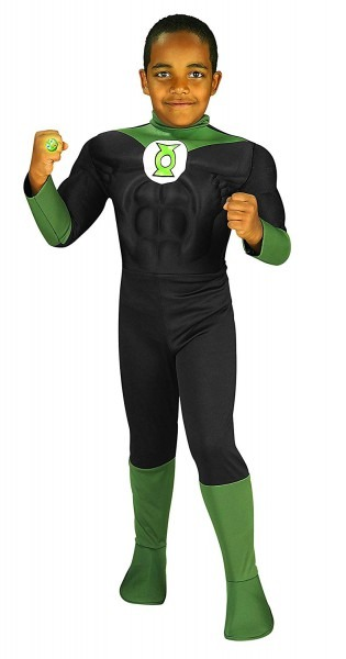 Amazon Com  Rubie's Costume Green Lantern Deluxe Muscle Chest