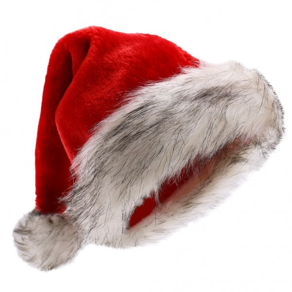 Amazon Com  Beurio Deluxe Plush Santa Hats  Toys & Games