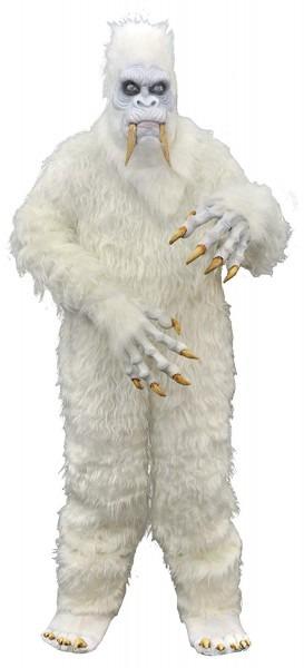Amazon Com  Uhc Men's Yeti Outfit Horror Theme Adult Fancy Dress