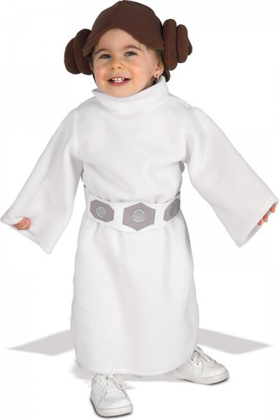 Infant Toddler Princess Leia Robe