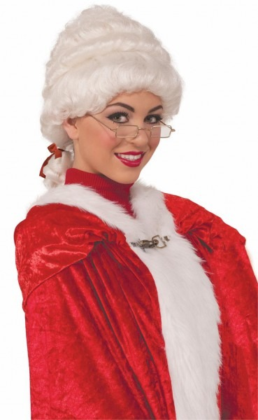 Deluxe Mrs Claus Wig