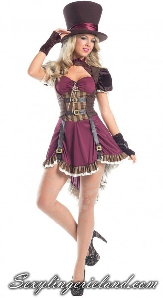 Steampunk Mad Hatter Costume In 2019