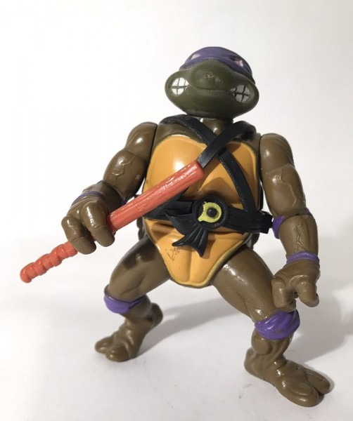 Vintage Tmnt Donatello 5  Figure Belt Weapon Teenage Mu