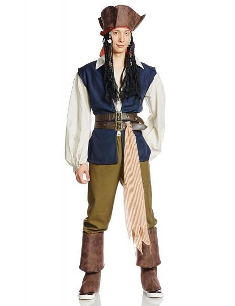 Amazon Com  Disney Pirates Of The Caribbean Adult Jack Sparrow