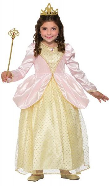 Amazon Com  Forum Novelties Girls Gilded Rose Princess Costume