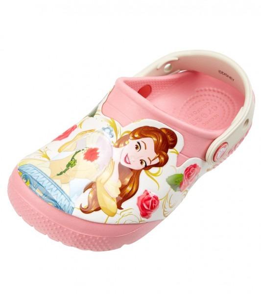 Crocs Girls' Funlab Princess Belle (toddler, Little Kid) At