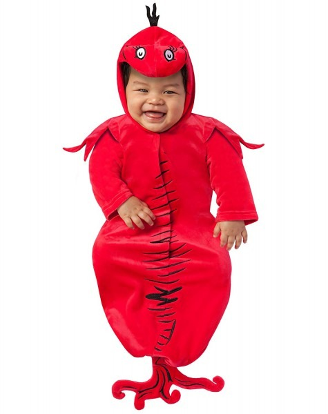 Amazon Com  Spirit Halloween Baby Red Fish Bunting